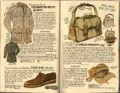 Banana Republic Summer 1986 No. 28 Correspondent's Jacket, Dick Shaap Testimonial, Men's Toeguard Shoes, Correspondent's Bag, Peter Beard Testimonial