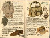 Banana Republic Summer 1986 No. 28 Correspondent\'s Jacket, Dick Shaap Testimonial, Men\'s Toeguard Shoes, Correspondent\'s Bag, Peter Beard Testimonial
