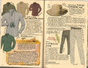 Banana Republic Summer 1986 No. 28  Naturalist's Shirt, Mark Owens Travelogue, Tuscan Vintner's Hat, Robert Mondavi Testimonial, Men's Australian Pants