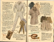 Banana Republic Summer 1986 No. 28 Women's Expedition Flightsuit, Document Bag, Kalahari Shirt, Outback Shorts, Brass Knob Belt, Kitty Banner Testimonial