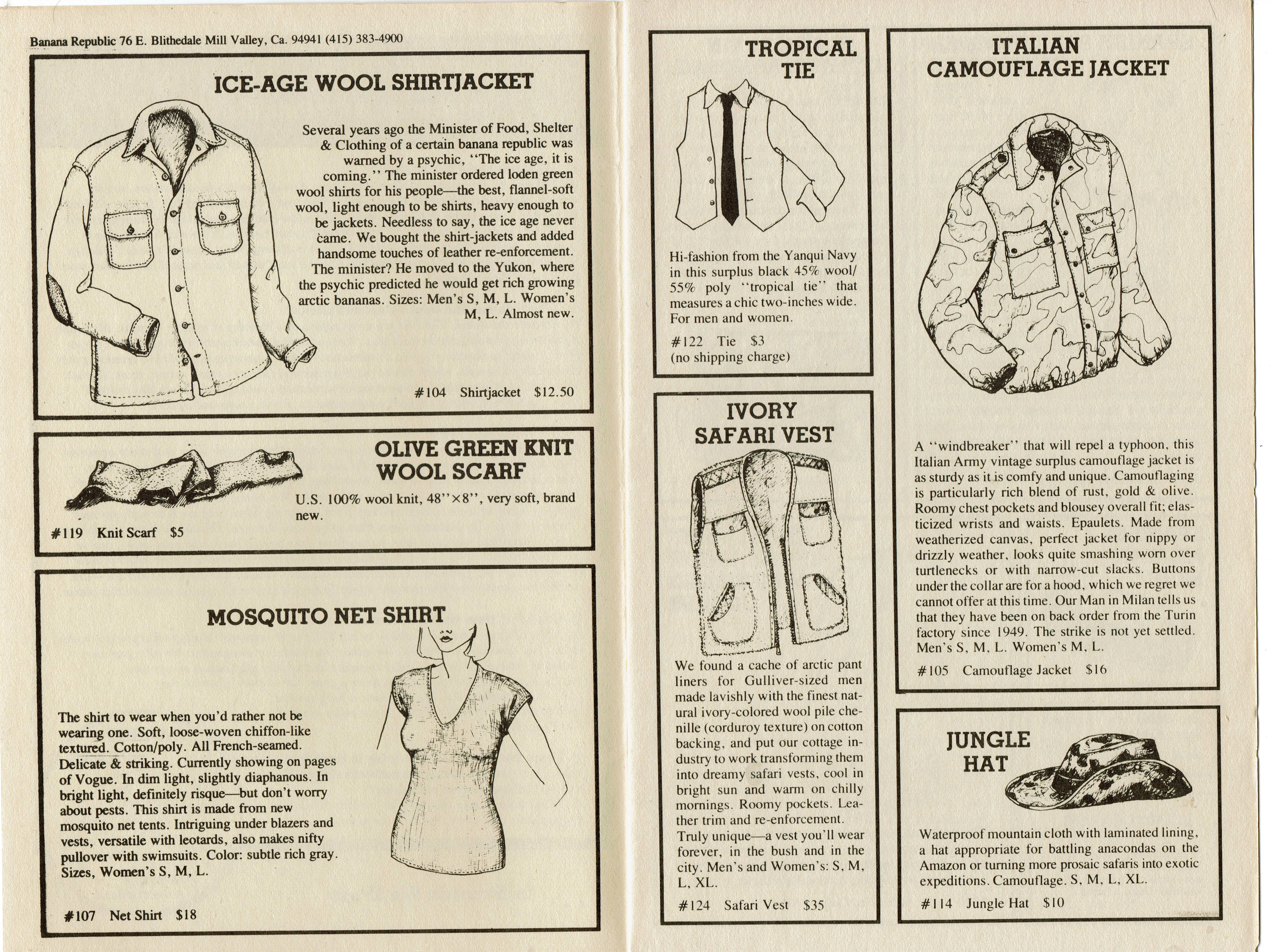 1979 Winter Catalogue #1