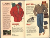 Banana Republic Catalog 37 Fall 1988 Lightweight Field Jacket, Lamb's Twill Shirt, Corded Trousers