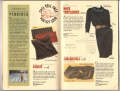 Banana Republic Catalog 37 Fall 1988  Market Scarf, Mock Turtleneck Dress, Swashbuckle Belt