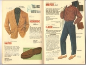 Banana Republic Catalog 37 Fall 1988 Deersuede Blazer, Loafers, Harvest Shirt, Classic Trousers