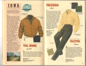 Banana Republic Catalog 37 Fall 1988 Twill Bomber Jacket, Proletarian Shirt, Peacetime Chinos