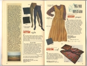 Banana Republic Catalog 37 Fall 1988 Cotton Tights, Agean Jumper, Quilting Scarf