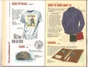 Banana Republic Catalog 37 Fall 1988 Rails To Trails Shirt, Safari Cap, Shirt To Come Home To, Passport Case