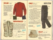 Banana Republic Catalog 37 Fall 1988 Sculling Shirts, Photojournalist Vest, Jungle Fatigues, Roll-Up Hat