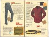 Banana Republic Catalog 37 Fall 1988 Kenya Convertibles, Israeli Paratrooper Briefcase, Bombay Shirt, Desert Belt