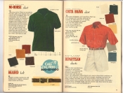 Banana Republic Catalog 37 Fall 1988 No-Horse Shirt, Braided Belt, Cosa Brava Shirt, Bipartisan Shorts