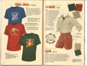 Banana Republic Catalog 37 Fall 1988 Tribal Animal T-Shirts, 90-Degree Shirt, Hiking Shorts