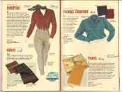 Banana Republic Catalog 37 Fall 1988 Jodhpurs, Navajo Scarf, Pinwale Corduroy Shirt, Travel Diary