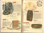 Banana Republic Catalog 37 Fall 1988 Lakota Vest, Transit Bag, Deersuede Skirt, Brass-Buckle Contour Belt