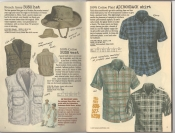 Banana Republic Summer 1987 No. 32  French Army Bush Hat, Bush Vest, Adirondack Shirt