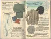 Banana Republic Summer 1987 No. 32  Long Sleeved Jersey, Tropical Pants, Italian Waiter's Jacket