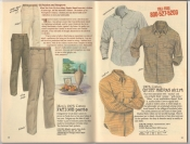Banana Republic Summer 1987 No. 32  Fatigue Pants, Quiet Madras Shirt