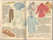 Banana Republic Summer 1987 No. 32  Wading Pants, Agean Sandals, Painter's Shirt