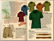 Banana Republic Summer 1987 No. 32  Walkabout Shorts, No-Horse Shirt, Jute Belt
