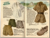 Banana Republic Summer 1987 No. 32  Yucatan Shirt, Women\'s Outback Shorts, Bush Jumpsuit, Foreign Legion Shoes
