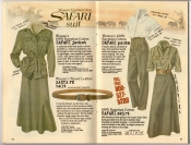 Banana Republic Summer 1987 No. 32  Women's Safari Jacket, Women's Safari Pants, Safari Skirt, Santa Fe Belt