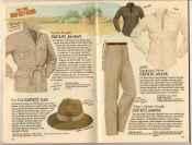 Banana Republic Summer 1987 No. 32  Safari Jacket, Safari Hat, Safari Shirt, Safari Pants