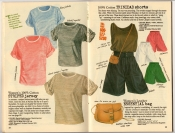 Banana Republic Summer 1987 No. 32  Striped Jersey, Trinidad Shorts, Essential Bag