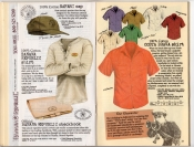 Banana Republic Summer 1987 No. 32  Safari Cap, Banana Republic Shirt, Banana Republic Checkbook, Costa Brava Shirt