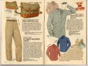 Banana Republic Summer 1987 No. 32  Low-Profile Bag, Richard Walker's Pants, Naturalist's Shirt,