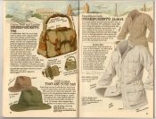 Banana Republic Summer 1987 No. 32 Correspondent's Bag, Town and Bush Hat, Correspondent's Jacket