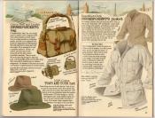 Banana Republic Summer 1987 No. 32 Correspondent\'s Bag, Town and Bush Hat, Correspondent\'s Jacket