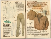 Banana Republic Summer 1987 No. 32 White Shirt, Dress Khakis, Windbuffer Jacket