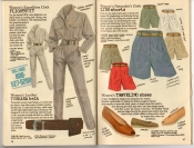 Banana Republic Summer 1987 No. 32 Flightsuit, Turkana Belt, Lido Shorts, Traveling Shoes