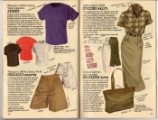 Banana Republic Summer 1987 No. 32 Short-Sleeved Jersey, Memsahib Shorts, Strider Skirt, Shoulder Bag