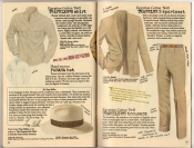 Banana Republic Summer 1987 No. 32 Traveler's Shirt, Panama Hat, Traveler's Sportcoat, Traveler's Trousers