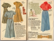 Banana Republic Summer 1987 No. 32 Lamu Dress, Work Skirt, Woven Jute Belt