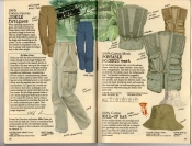 Banana Republic Summer 1987 No. 32 Jungle Fatigues, Portable Pockets Vest, Roll-Up Hat