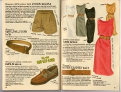 Banana Republic Summer 1987 No. 32 D-Ring Shorts, Save-The-Tiger Belt, Women's Safari Shoes, Tank Dress, Woven Leather Belt