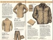 Banana Republic Catalog No. 16 Holiday 1983 Knit Turtleneck, Bush Shirt, Rain Pants, BritishArmy Handkerchief, Outback Jacket