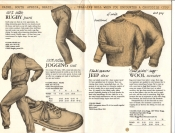 Banana Republic Catalog No. 16 Holiday 1983 Rugby Pants, Jogging Suit, Jeep Shoe, Ragg Wool Sweater