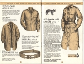 Banana Republic Catalog No. 16 Holiday 1983 Dutch Army Shirt, Sahara Smock, Regiment Belt, Safari Dress