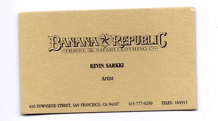 Sarkki Business Card