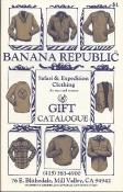 Banana Republic 1980 Gift Catalog by Patricia_Ziegler