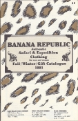 Banana Republic 1981 Gift Catalog by Patricia Ziegler