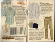 Banana Republic Spring 1987 Pamplona shirt, Italian Waiter's Jacket, Richard Walker's pants, Leather Braided Belt