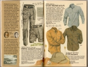 Banana Republic Spring 1987 Kenya Convertible Pants, Quiet Madras Shirt, Bombay Pith Helmet
