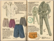 Banana Republic Spring 1987 Yucatan Shirt, Lido Shorts, Flightsuit, Essential Bag