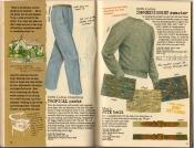 Banana Republic Spring 1987 Tropical Pants, Jute Belt, Impressionist Sweater