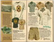 Banana Republic Spring 1987 Banana Republic T-Shirt, Ventilated Shirt, Gurkha Shorts
