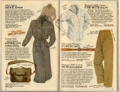 Banana Republic Spring 1987 Safari Dress, Australian Schoolbag, Pure White Shirt, Pigskin Belt, Women\'s Chino Trousers