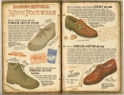 Banana Republic Spring 1987 Men's Footwear